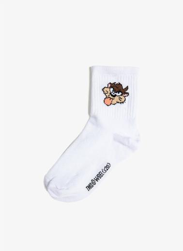 Koton Çorap Beyaz